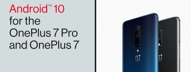 Android 10 per OnePlus 7