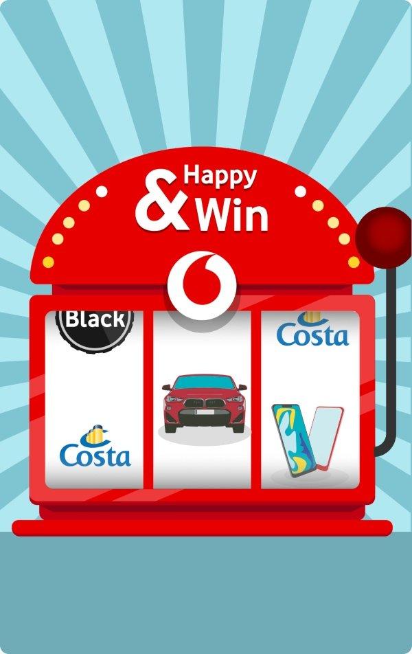 Vodafone Happy & Win
