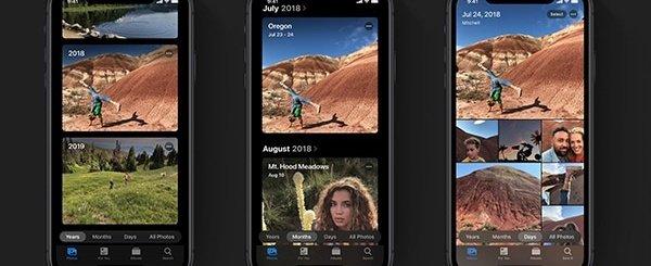 iOS 13, Dark Mode