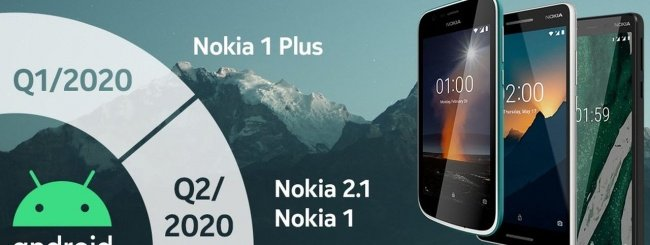 Roadmap Nokia - Android 10 (Go Edition)