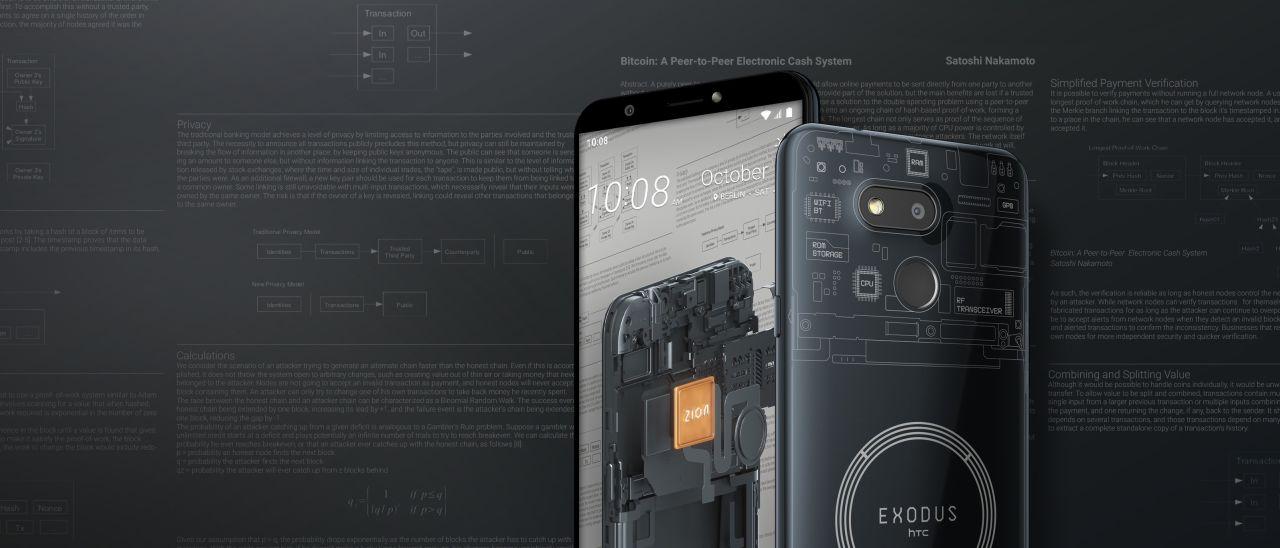 HTC Exodus 1s, nodo Bitcoin completo a 219 euro   Webnews