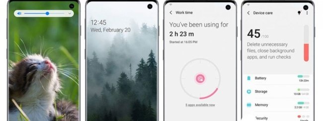 Samsung Galaxy S10 - Android 10 One UI 2.0 beta
