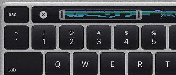 MacBook Pro 16 pollici, tastiera