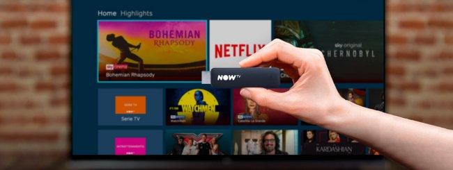 Now TV e Netflix