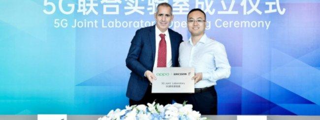 OPPO ed Ericsson lanciano la 5G Joint Lab