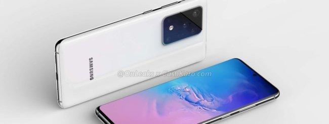Samsung Galaxy S11+ render