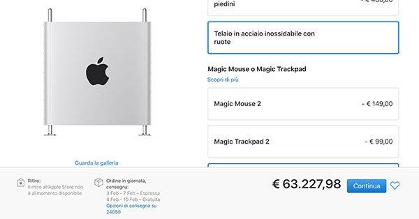 Costi Mac Pro