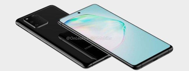 Samsung Galaxy A91 render