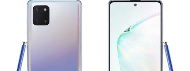 Samsung Galaxy Note 10 Lite render