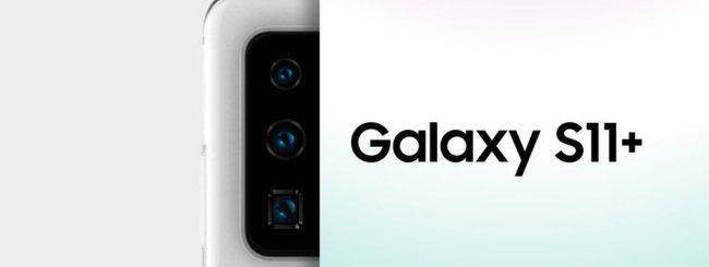 Samsung Galaxy S11+ leak