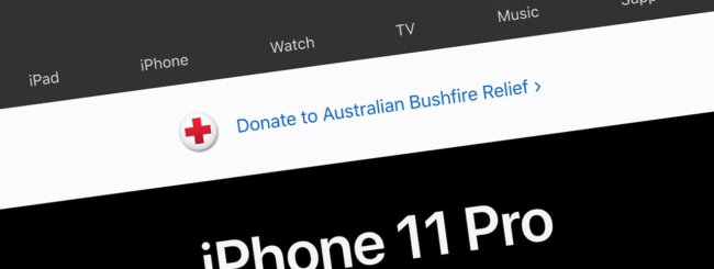 Apple, donazioni Australia