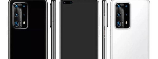 Huawei P40 Pro render