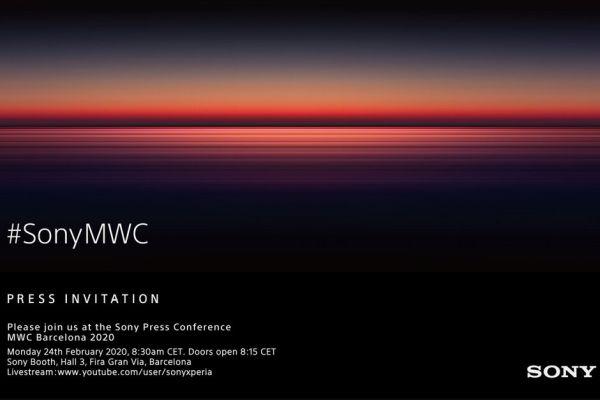 Invito Sony MWC 2020