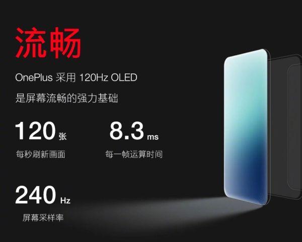 OnePlus 120 Hz Display