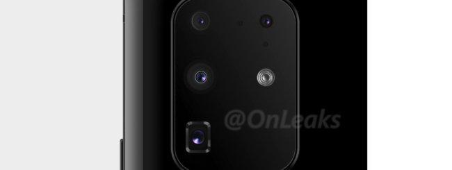 Samsung Galaxy S11 Plus render