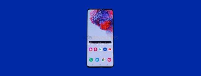 Samsung Galaxy S20+ leak