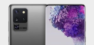 Samsung Galaxy S20 Ultra render