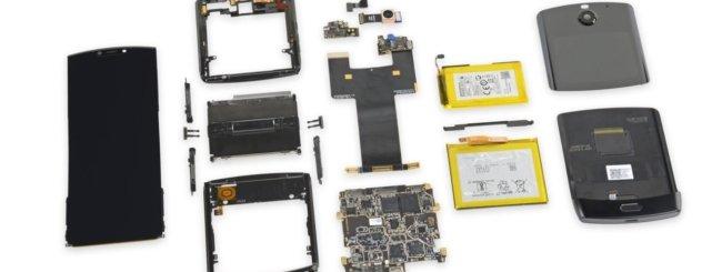 Motorola Razr iFixit teardown