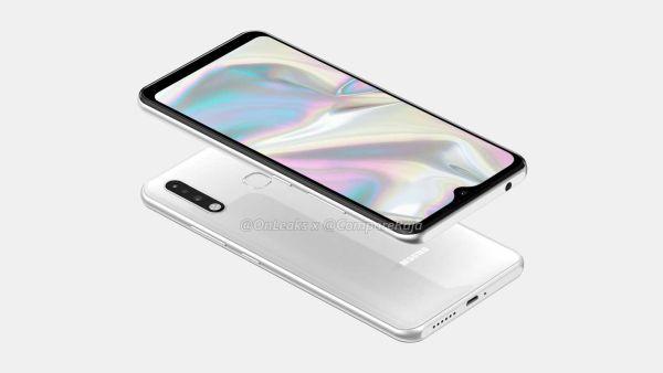 Samsung Galaxy A70e render