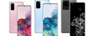 Samsung Galaxy S20 Series, immagini ufficiali
