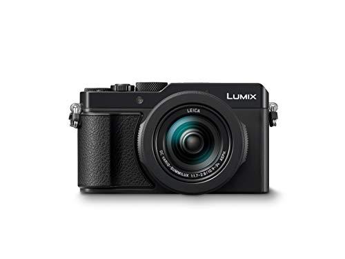 """LUMIX DC-LX100M II Fotocamera Digitale Compatta con Sensore MOS Micro Quattro Terzi, 1.33"""", 17 MP, Obiettivo LEICA DC VARIO-SUMMILUX, 4K Foto e Video, Wi-Fi, Bluetooth, Nero"""