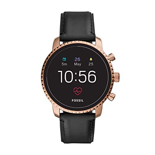 Fossil Smartwatch Uomo con Cinturino in Pelle FTW4017