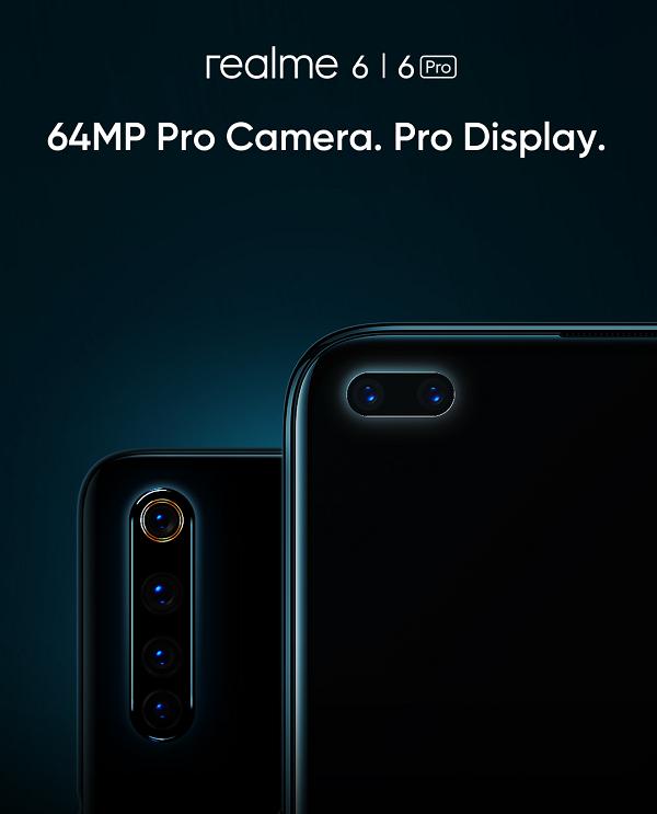 Realme 6 e 6 Pro