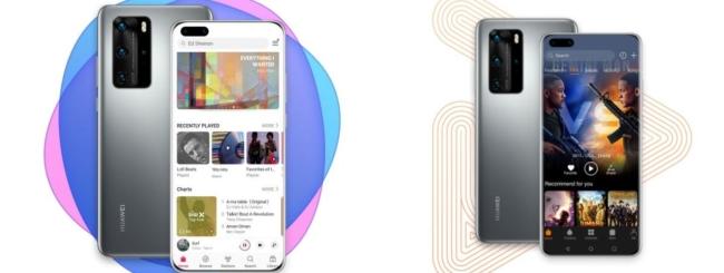 Huawei Music e Video