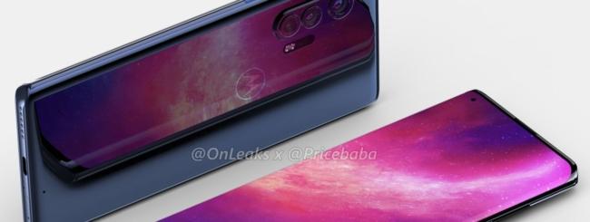 Motorola Edge+ render