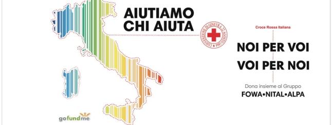 Nital, Nikon - Donazione Croce Rossa