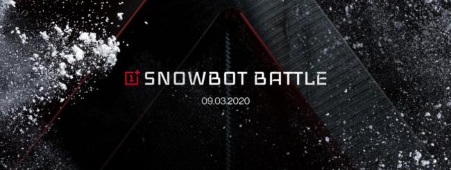 OnePlus Snowbot Battle
