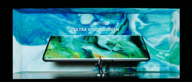 Oppo X2 Ultra Vision Screen