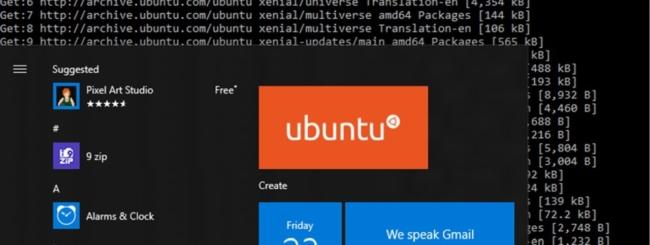 Ubuntu in Windows 10