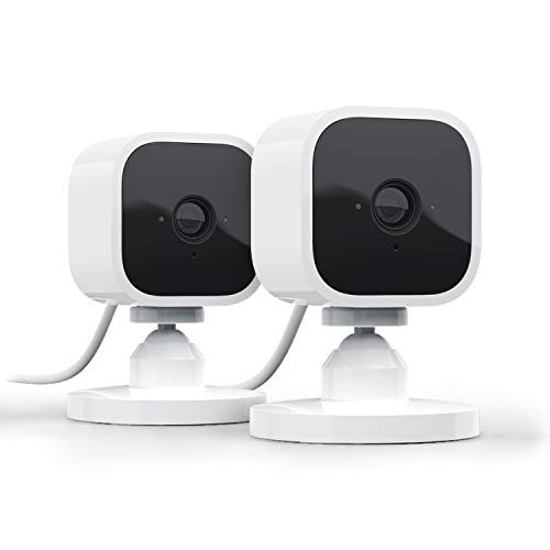 Blink Mini - 2 videocamere di sicurezza intelligenti per interni