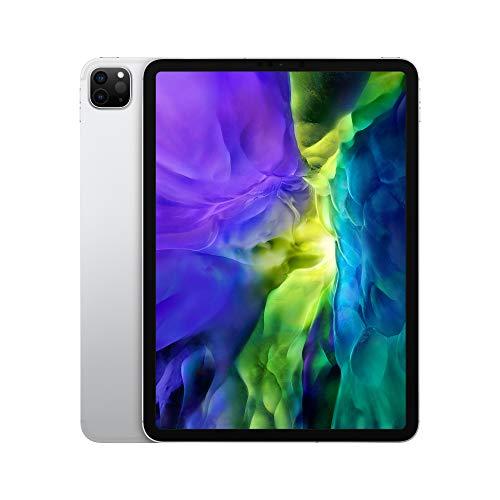 Nuovo Apple iPad Pro (11″, Wi-Fi + Cellular, 128GB) – Argento (2ª generazione)