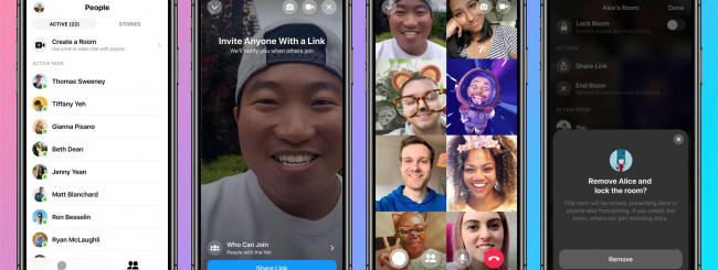 facebook messenger rooms videochiamate di gruppo
