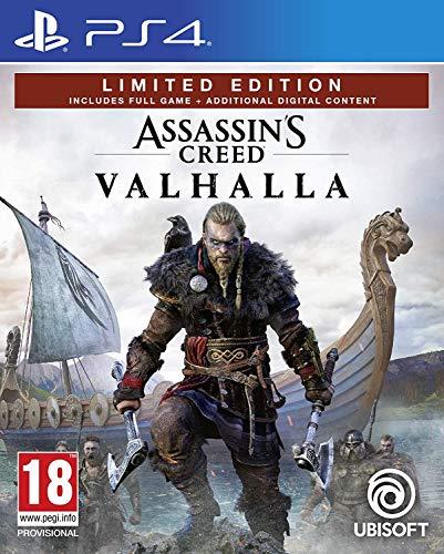Assassin's Creed Valhalla - Limited (Esclusiva Amazon) - Playstation 4