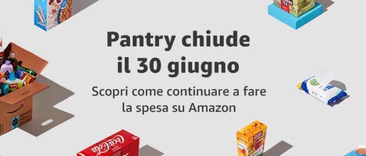 Addio ad Amazon Pantry: ecco cosa cambierà - Webnews