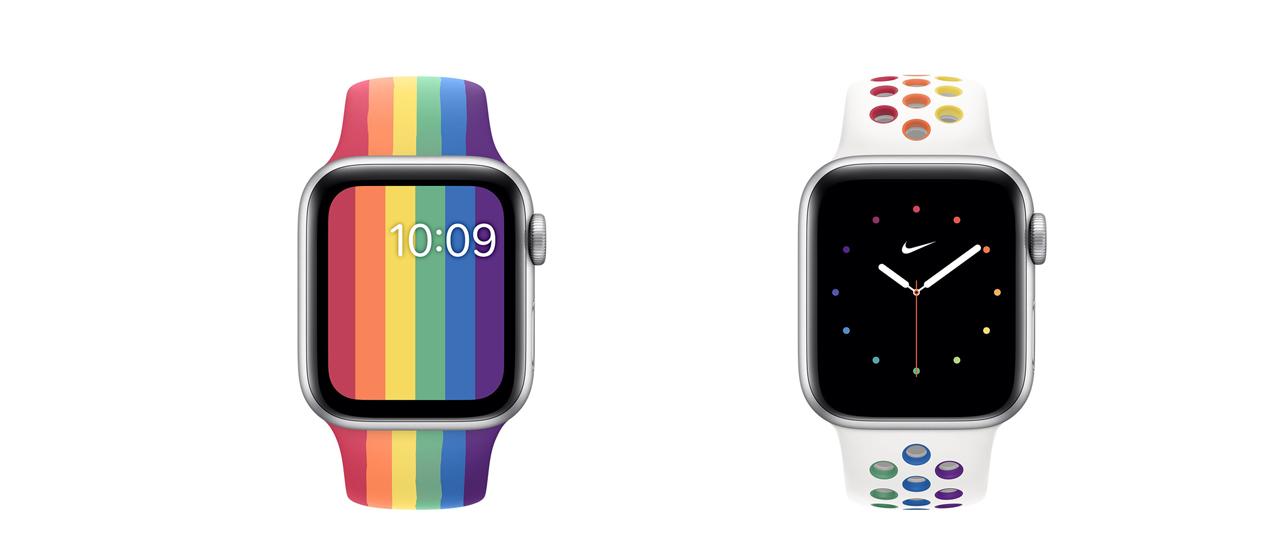 Apple lancia 2 nuovi cinturini Pride per Apple Watch   Webnews