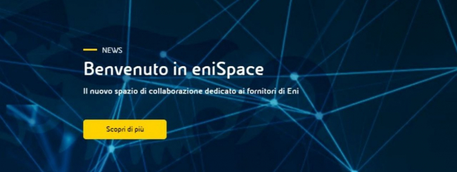 enispace fornitori eni