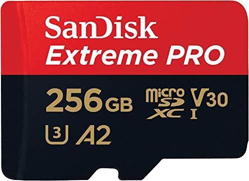 SanDisk Extreme Pro Scheda di Memoria microSDXC (256 GB)