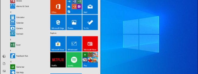 windows 10 nuovo menu start