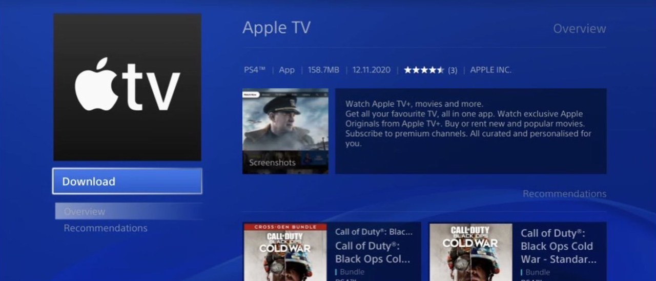 Apple TV sbarca finalmente su PS4 e PS5 | Webnews