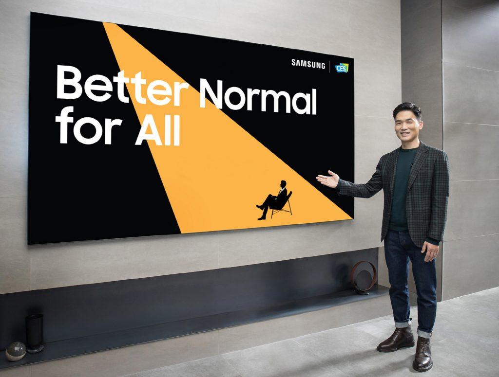 Samsung presenta al CES le innovazioni p …