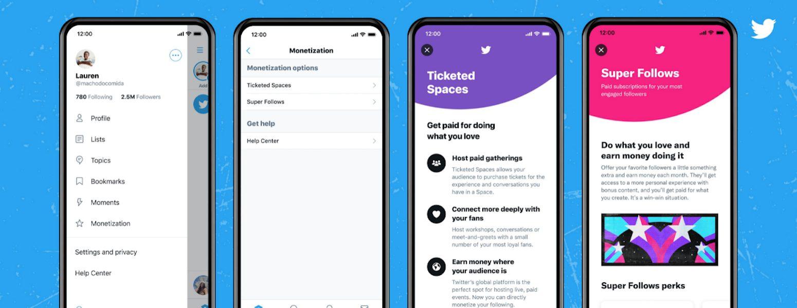 Twitter lancia Super Follows, funzione per contenuti a pagamento