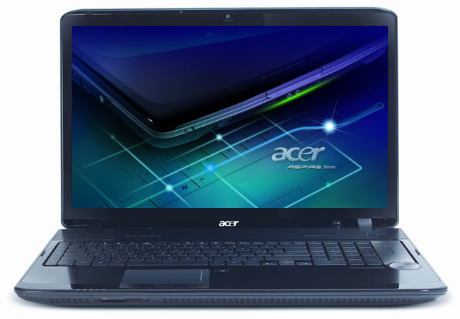 Acer Aspire 8942G front
