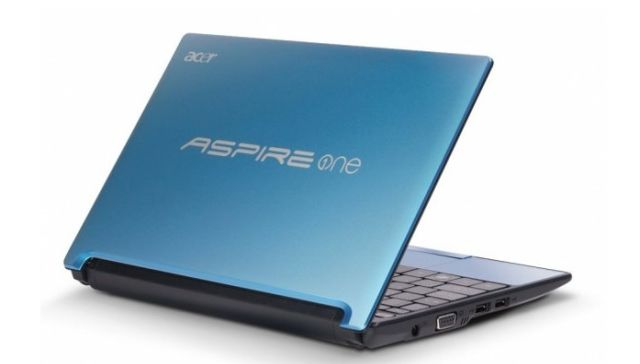 Acer Aspire One D255 dietro