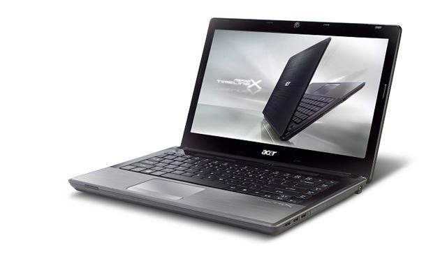 Acer Aspire TimelineX 4820T - display