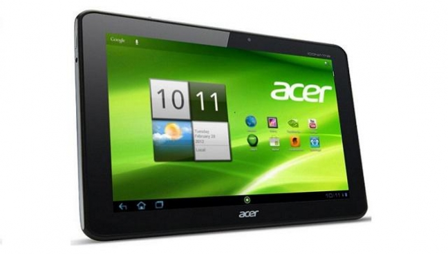 Acer Iconia Tab A701 frontale