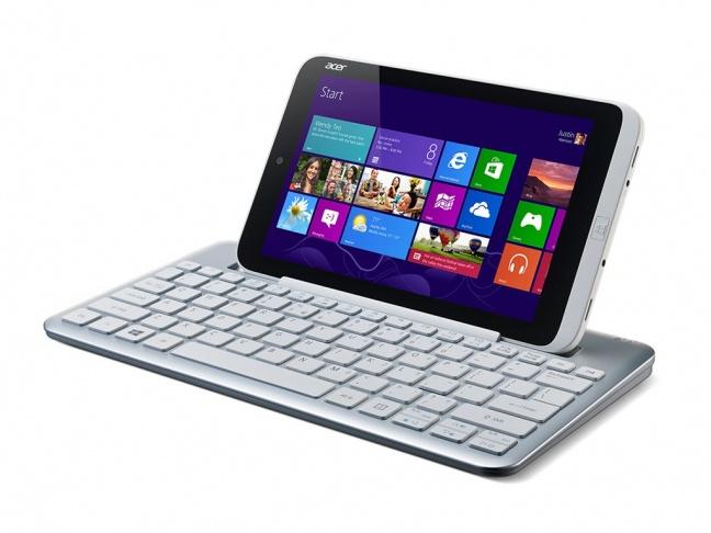 Acer Iconia W3 con tastiera esterna